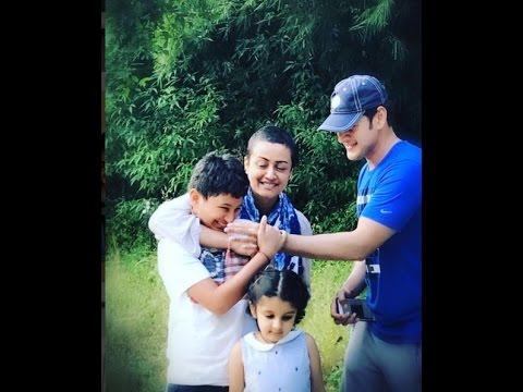 Mahesh Babu With Family Foreign Trip Exclusive Video    Namrata shirodkar   Sitara Ghattamaneni