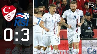 Blamage! Türkei nicht zur WM: Türkei - Island 0:3   Highlights   WM-Quali   DAZN