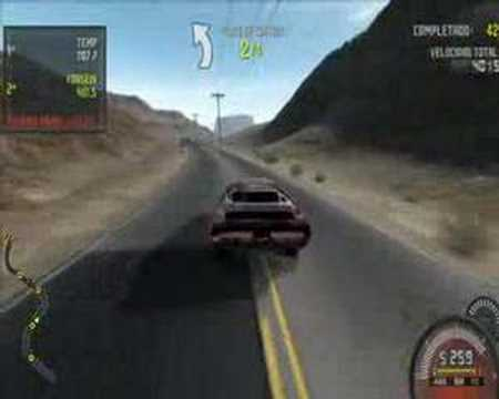 Need for Speed Pro Street Accidentes Crashes