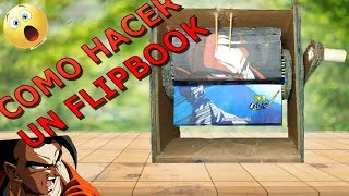 APRENDER A HACER FLIPBOOK DE DBS FACIL PASO A PASO / How to make FLIPBOOK ANIMATION MACHINE DBS