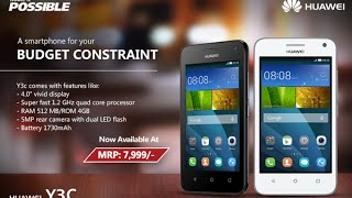 Обзор смартфона huawei Y3C