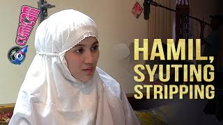 Hamil Besar, Alyssa Soebandono Syuting Stripping - Cumicam 14 Juli 2017