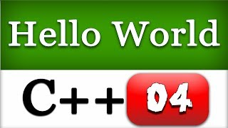 C++ First Hello World Program |  CPP Programming Video Tutorial