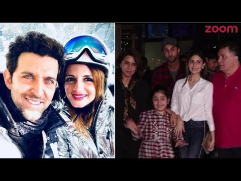 Hrithik Roshan's Wife Sussanne's Birthday Wish For Him    Ranbir Kapoor Dines Out With Family