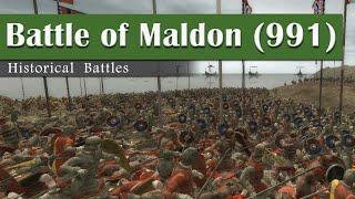 Battle of Maldon (991) - Historical Battles