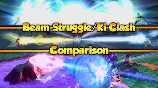 Dragon Ball Games - Beam Struggles/Ki Clashes