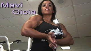 Mavi Gioia charming italian girl with stunning biceps part2