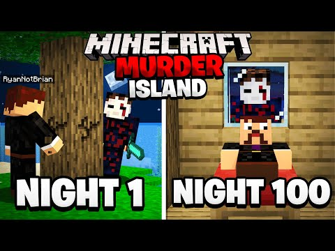 Surviving 100 Nights on a Minecraft Murder Island here s what happened