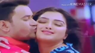 Amrapali Dubey Hot Kiss Bhojpuri Kiss