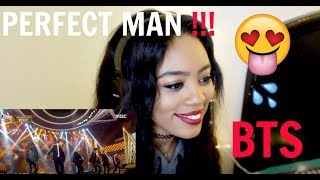 BTS PERFECT MAN REACTION
