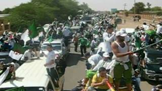 algerie egypte : خطر   les supporters algériens au soudan le 18/11/09