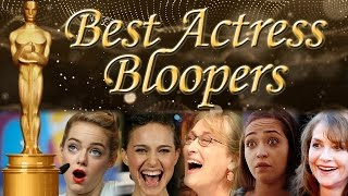 Funniest Bloopers from Best Actress Nominees - Oscars 2017