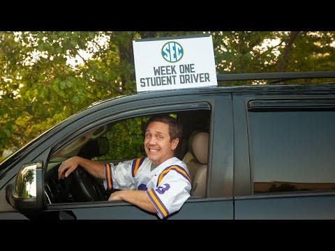 SEC Shorts SEC Teams go through Drivers Ed