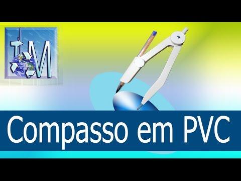 Compasso em PVC