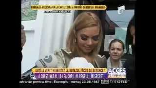 Beyonce de România şi-a botezat fetiţa în mare secret