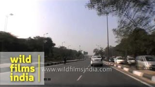 AIIMS Ring Road to airport road driving video