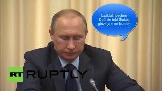 Putin i Vucic parodija
