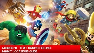 Guide: Lego Marvel Superheroes - That Sinking Feeling Minikit Locations - The Unhinged Gamer