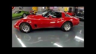1981 Corvette - Red/Black, #'s Match, 47,200 Miles - Seven Hills Motorcars