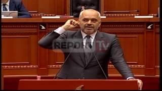 Report TV - Batutat/Rama: Sali të ka humbur shamia, Berisha:O shoku Xhemal