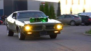 503 HEMI Dodge Charger - Burnout and V8 Sound