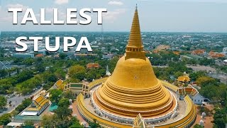 LARGEST STUPA IN THE WORLD - Phra Pathommachedi