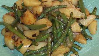 KFB- Tasty Traditional Chinese Potato and Green Bean Dish