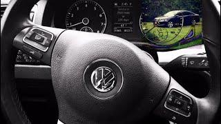 How to reset tire pressure light on your Volkswagen Passat 2012.