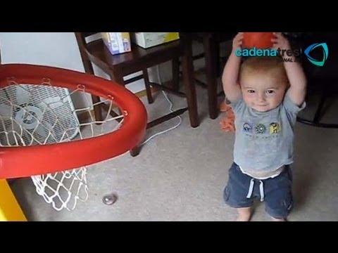 Titus niño prodigio en el básquetbol / Titus in basketball prodigy