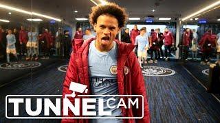 TUNNEL CAM   Man City 4 - 1 Tottenham   2017-18