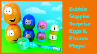 Bubble Guppies Surprise Eggs Stacking Cups Frozen Hello Kitty Paw Patrol My Little Pony Shopkins
