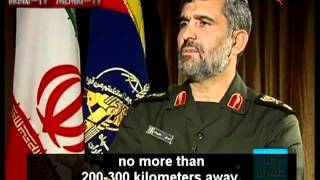 "Brigdier Generas Said ""Tel Aviv will be on fire before leaving Iranian airspace""."