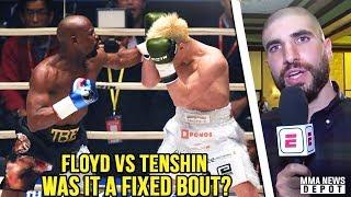 Reactions to Floyd Mayweather vs Tenshin Nasukawa; Chad Mendes retires; Dana on Brock; Jones on DC