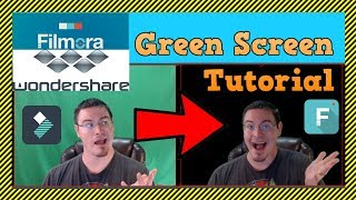 Tutorial: How To Set Up Green Screen (Chroma Key) in Filmora WonderShare Video Editor