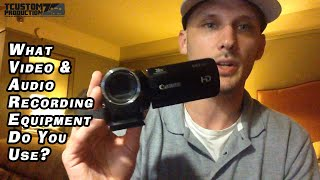 Video & Audio Recording Equipment for YouTube Videos? -- Webcam, Camcorder, Mic