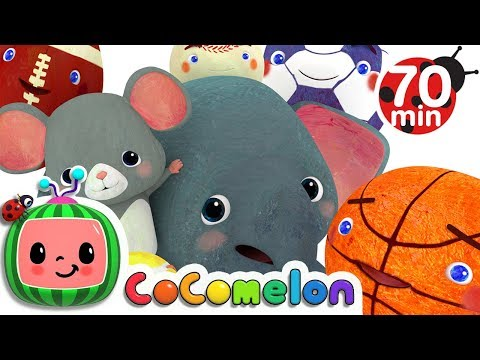 Sports Ball Song More Nursery Rhymes & Kids Songs CoComelon