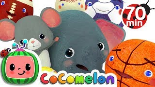 Sports Ball Song | + More Nursery Rhymes & Kids Songs - ABCkidTV