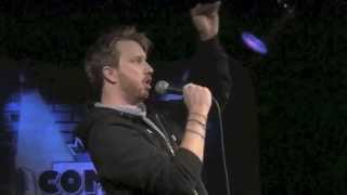 Heckler forced to do stand-up comedy