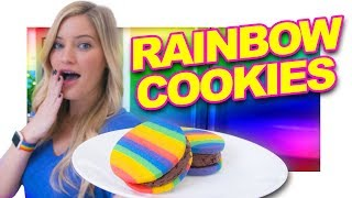 🌈 How to make Rainbow Cookies!