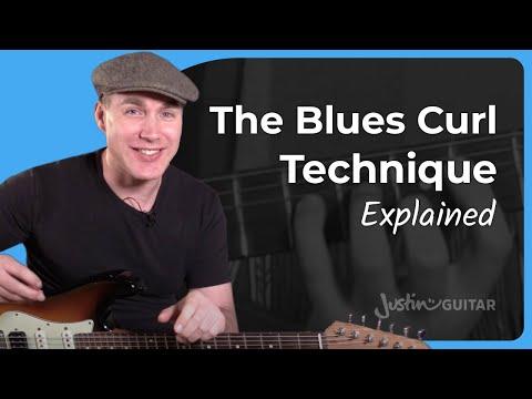 The Blues Curl: Improve Your Blues 'accent' - Lesson 9 - Essential Lead Guitar Lessons [BL-409]