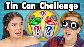 TIN CAN CHALLENGE   Teens Vs. Food