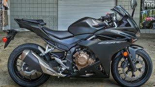 2016 Honda CBR500R Sport Bike | CBR Motorcycle Walk-Around Video (500cc) | Matte Black Metallic