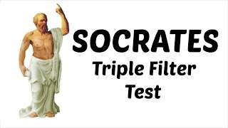 [Hindi - हिन्दी] Socrates Triple Filter Test Animated Motivational Video for Students