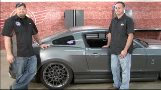 Mustang Air Lift Performance Complete Digital Air Suspension Kit 2005-2014 Installation