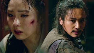 《BEST》 Six Flying Dragons 육룡이 나르샤|변요한, 위기에 빠진 신세경 구했다  EP21 20151214