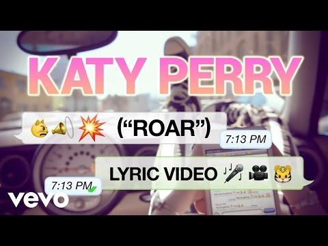Katy Perry - Roar (Lyric Video)