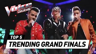The Voice (Kids)   TRENDING performances in the Grand Final