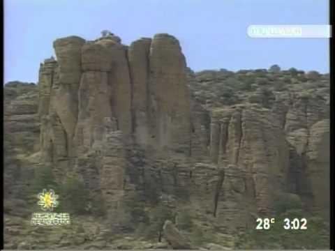 Sierra de Organos en Sombrerete Zacatecas