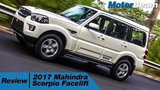 2017 Mahindra Scorpio Facelift Review - Fast & Furious | MotorBeam