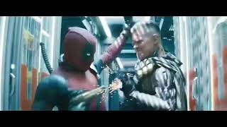 Deadpool 2: deadpool vs cable and truck scene